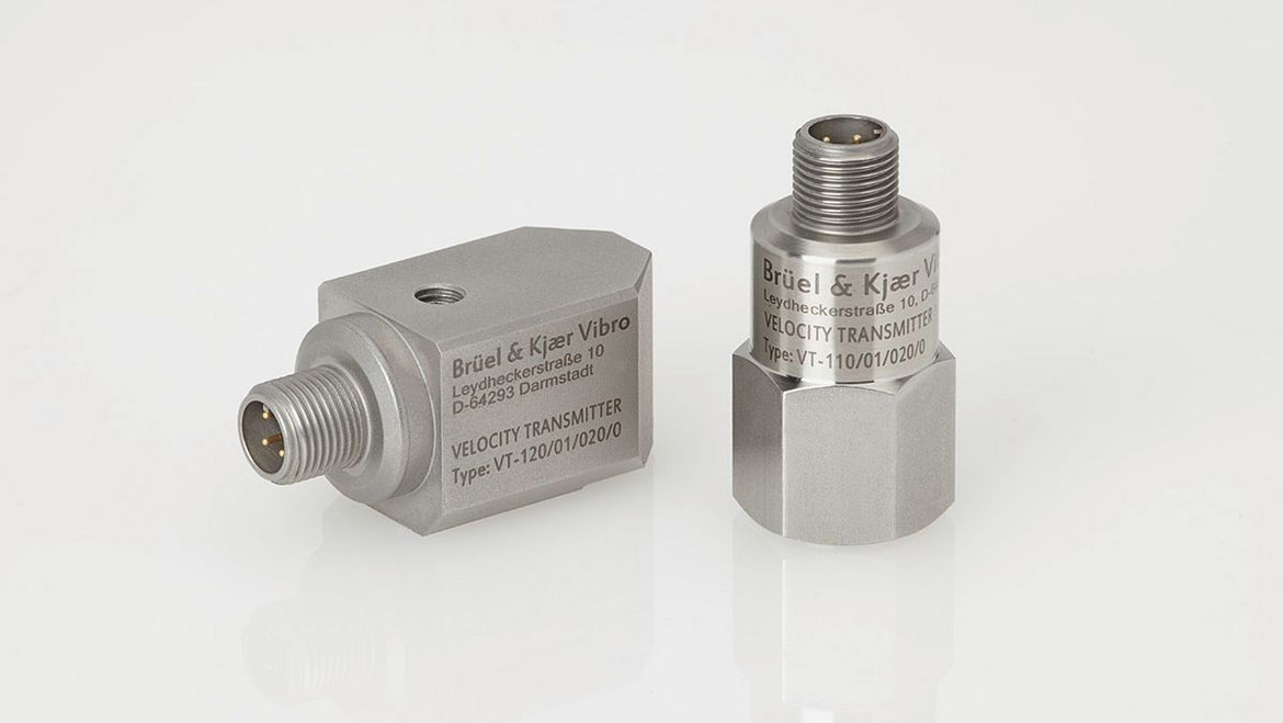 Case vibration transmitter VT-110 and VT-120