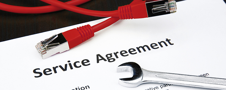 Piucture of a Long-Term Service Agreement