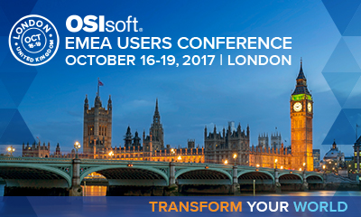 Banner OSIsoft EMEA Users Conference